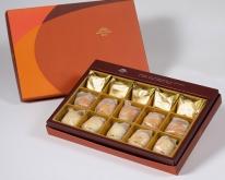 【御藏】綜合15入禮盒★鳳梨酥*5+蛋黃酥*5+漢坊金沙小月*5(蛋奶素)