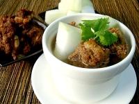 元盅冬瓜排骨酥湯