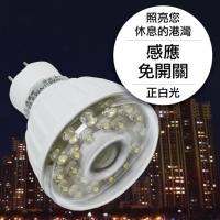 23LED感應燈泡(插頭型)(正白光)