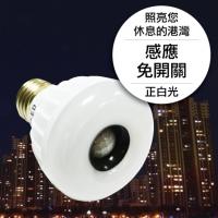 25LED感應燈泡(E27型)(正白光)