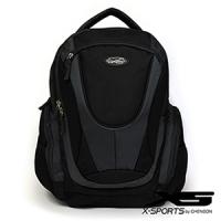 後背包 多口袋設計 變形金剛機能後背包 X-SPORTS 灰(CG30195-31)