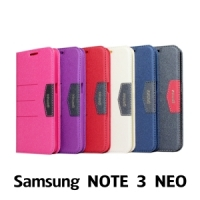 【GAMAX 嘉瑪仕】完美側掀站套 Samsung NOTE 3 NEO