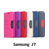 【GAMAX 嘉瑪仕】完美側掀站套 Samsung J7
