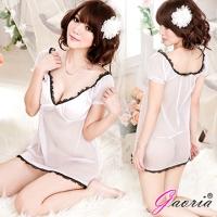 【Gaoria】純潔天使 透明情趣睡裙睡衣(N3-0024)