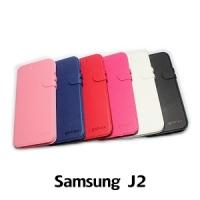 【GAMAX 嘉瑪仕】二代商務型站立側掀套 Samsung J2