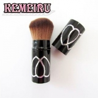 【KEMEIRU】伸縮式收納型蜜粉刷A346
