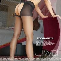 【JWEI】開放嬌點‧雙面開檔連褲絲襪(黑)(JA-24160519)