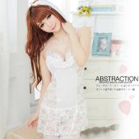【JWEI】甜美雅致.白色蕾絲睡衣(CF-19150714)