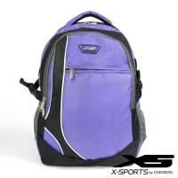 X-SPORTS黃金比例久背舒適後背包 紫(CG20509-3Q)