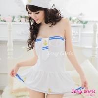 【Sexy Girls】情趣睡衣 俏可愛水手制服角色扮演套裝(CE-16007094)