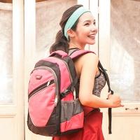 X-SPORTS 保護肩膀 獨家厚x寬背帶後背包 粉(CG20512-3P)