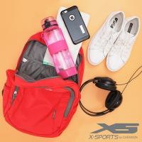 X-SPORTS 健身房運動包 久背舒適後背包 橘(CG30883-O)