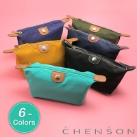 CHENSON 質感化妝收納包 硬式款 深藍(CG20753-6)