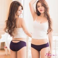 【Anna Mu】美臀挖洞造型低腰三角內褲(深紫)(NA11010020-3)
