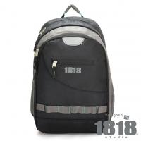 1818 1680D出差型耐用後背包(A4) 黑(CG20905-3)