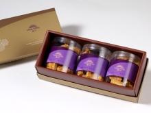 漢坊【御點】杏福燒手工餅乾3入禮盒(蛋奶