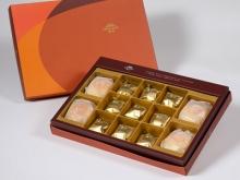 漢坊【御藏】綜合13入禮盒★綠豆椪*2+純綠豆椪*2+鳳梨核桃*9