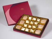 【金饌】綜合18入禮盒★綠豆椪*3+純綠豆椪*3+鳳梨酥*12(除綠豆椪外,其餘產品為蛋奶素)
