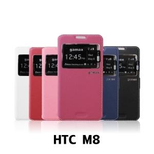 【GAMAX 嘉瑪仕】視窗商務側掀套 HTC M8