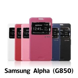 【GAMAX 嘉瑪仕】視窗商務側掀套 Samsung Alpha(G850)