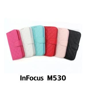 【GAMAX 嘉瑪仕】小香款菱格側掀套 InFocus M530
