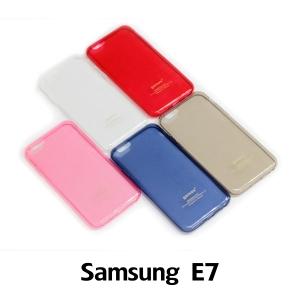 【GAMAX 嘉瑪仕】超輕薄透明套 Samsung E7