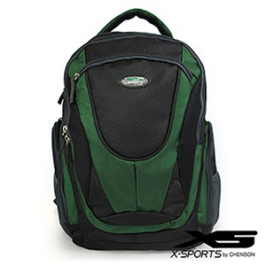 後背包 多口袋設計 變形金剛機能後背包 X-SPORTS 綠(CG30195-3A)