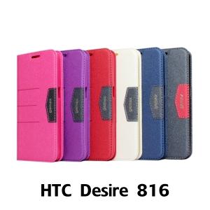 【GAMAX 嘉瑪仕】完美側掀站套 HTC Desire 816