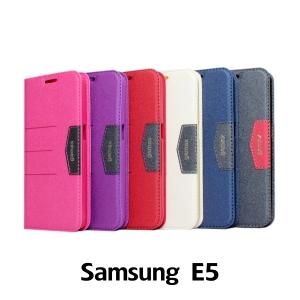 【GAMAX 嘉瑪仕】完美側掀站套 Samsung E5