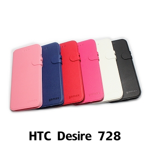 【GAMAX 嘉瑪仕】二代商務型站立側掀套 HTC Desire 728
