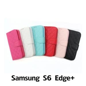 【GAMAX 嘉瑪仕】小香款菱格側掀套 Samsung S6 Edge+