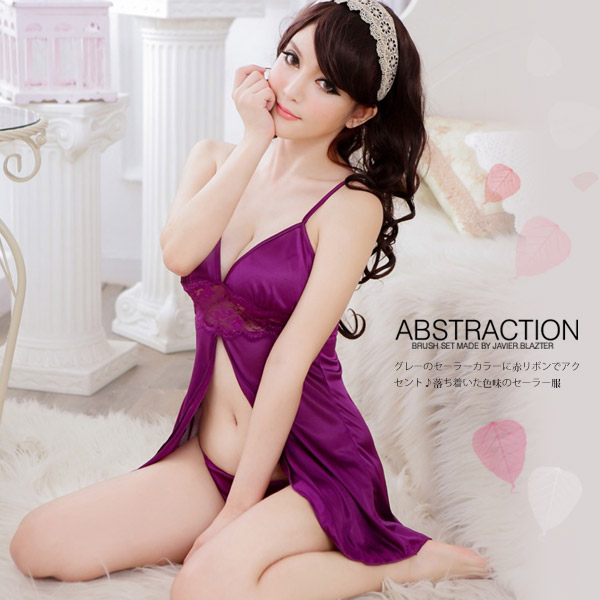 【JWEI】享愛天堂.蕾絲柔緞睡衣(CF-19150701)