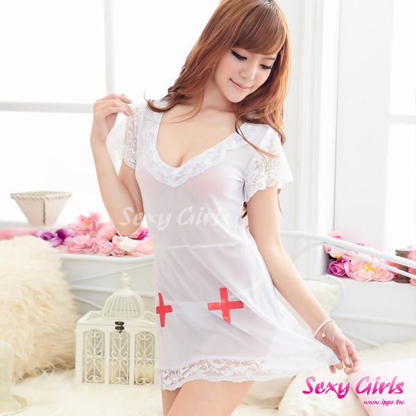 【Sexy Girls】情趣睡衣 性感嬌滴護士服二件式睡衣(CA-17008053)