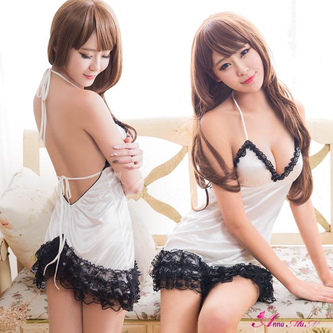 【Anna Mu】清純誘惑!甜蜜二件式睡襯衣(NA11030220)
